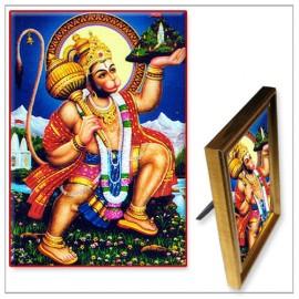 Lord Hanuman With Mount Dronagiri Photo